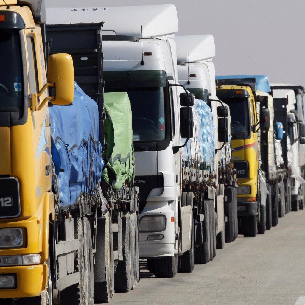 spedizione export via terra camion