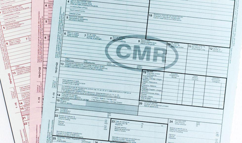 CMR lettera di vettura internazionale - OBICONS