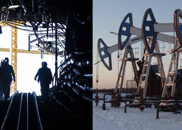 industria petrolifera e del carboniera in Russia