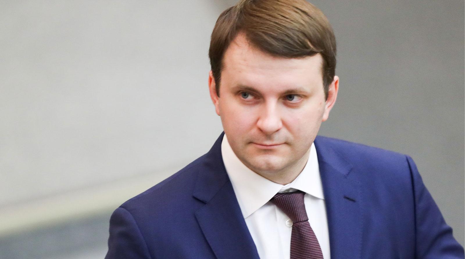 Maxim Oreshkin, Ministro dello Sviluppo economico in Russia