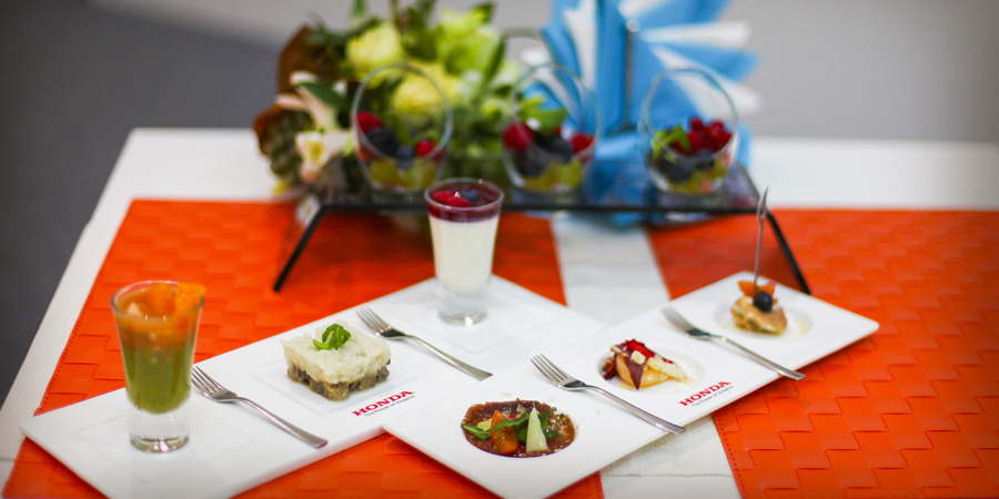 Esempio cibo stand fieristico - OBICONS