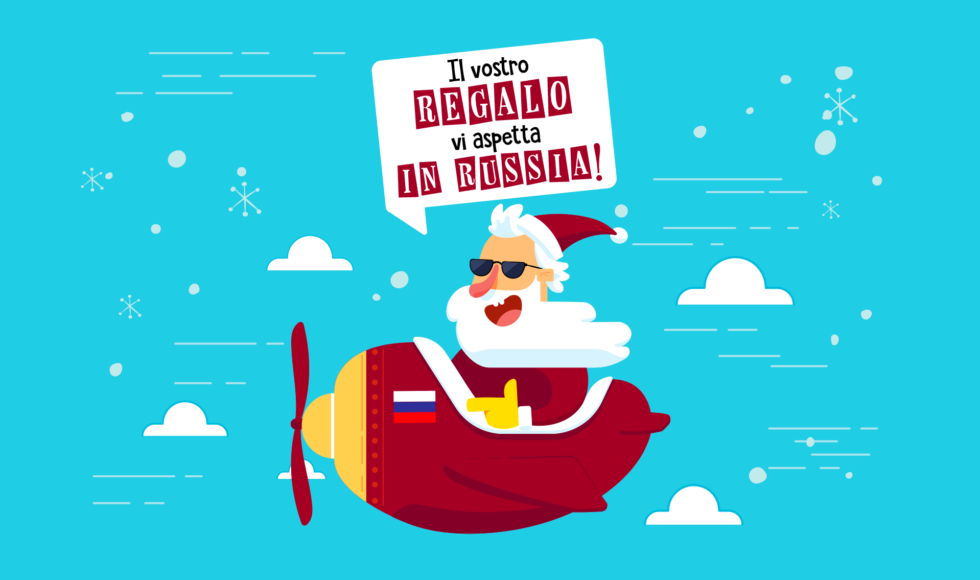 Offerta Natale OBICONS per business in Russia