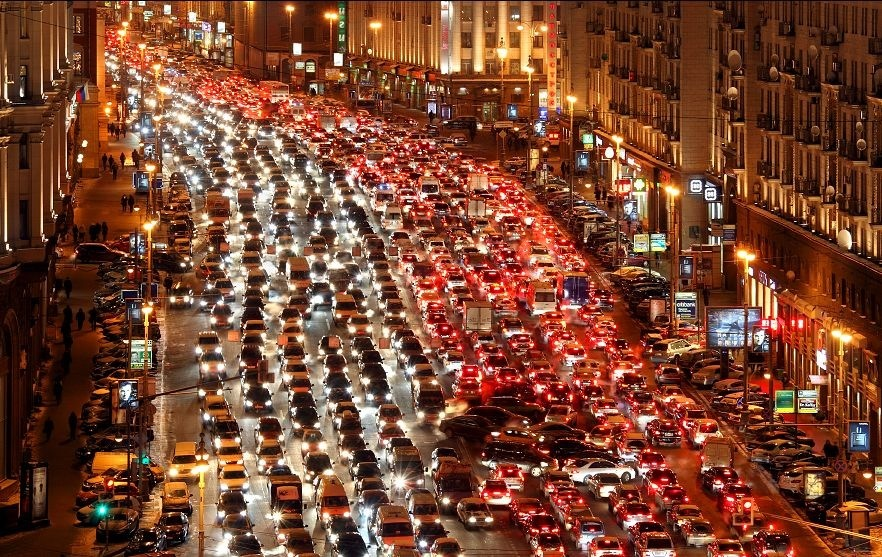 Traffico a Mosca - OBICONS