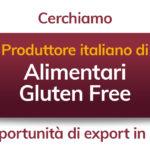 Cercasi: Produttore italiano alimentari gluten free