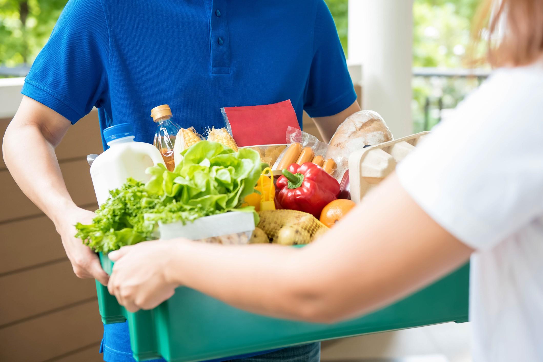 consegna alimenti a domicilio in Russia vendita online