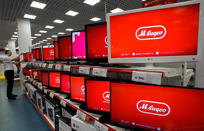 gruppo retail elettrodomestici Russia