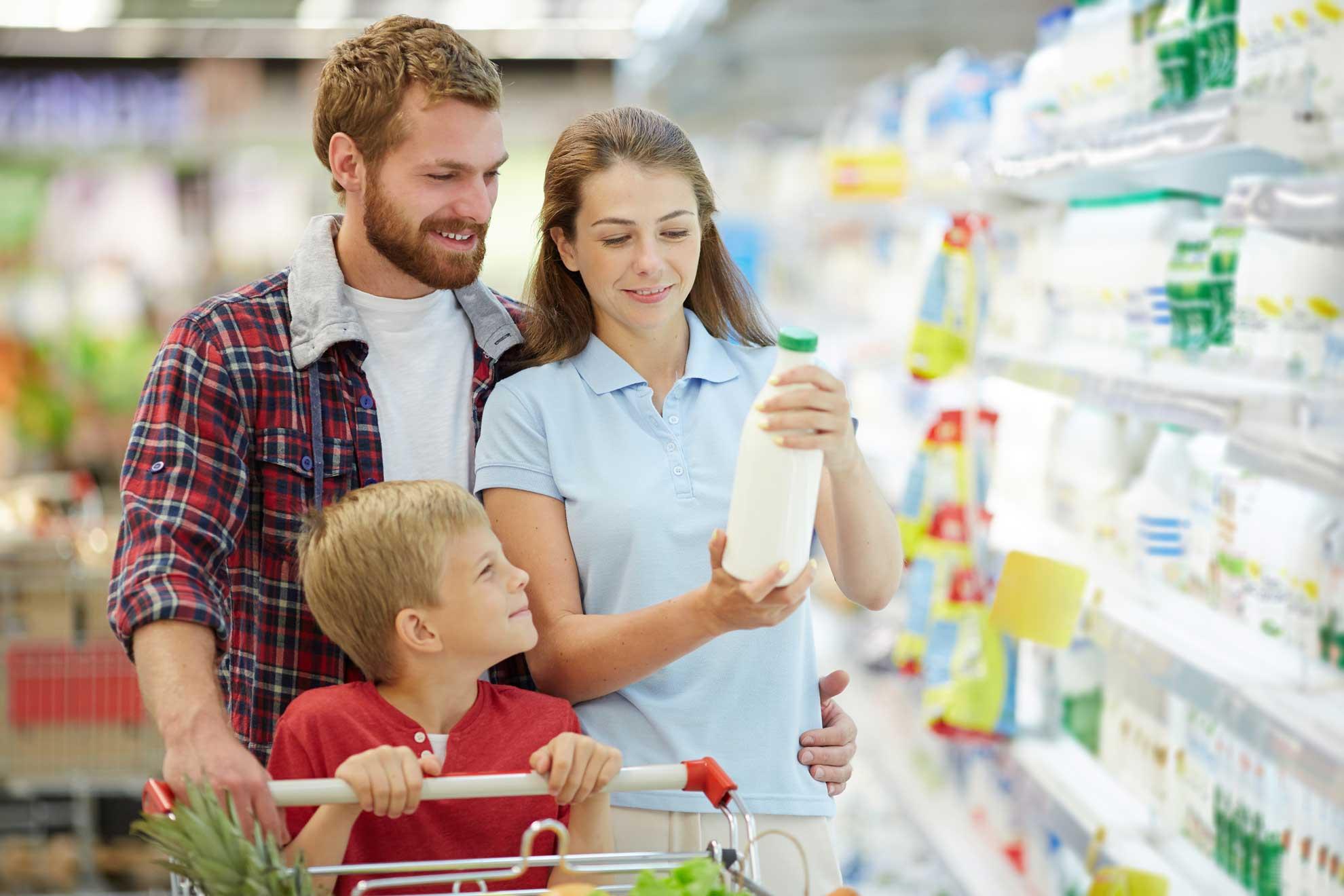 famiglia russa sceglie prodotto di qualità