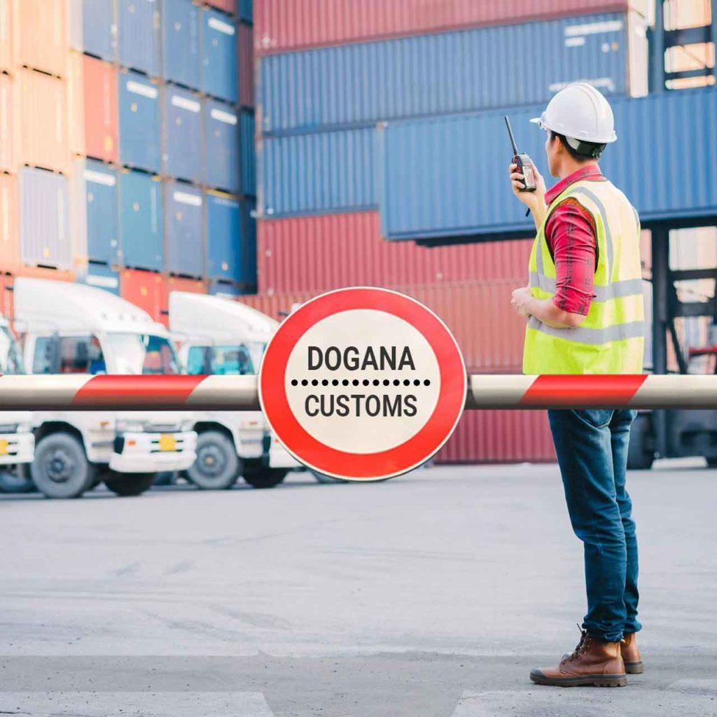 Dogana per l'import in italia come importare le merci