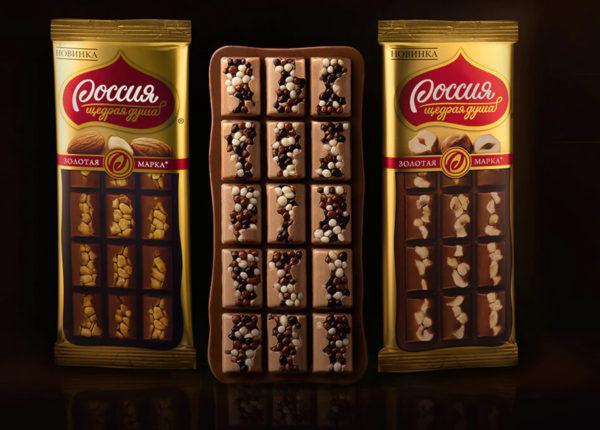 Produttore russo cioccolato e praline